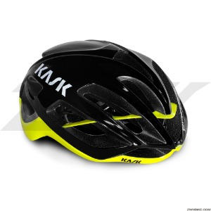 KASK PROTONE Cycling Helmet (Black/Yellow)