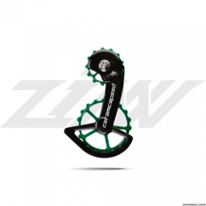 CeramicSpeed Sram Red/Force Axs Pulley Wheels (OSPW Alloy/Green Coated)